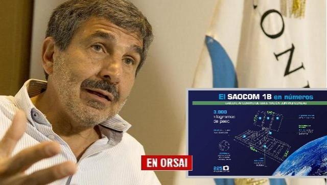 El Ministro de Ciencia, Tecnología e Innovaciónl, habló tras el lanzamiento del SAOCOM 1B