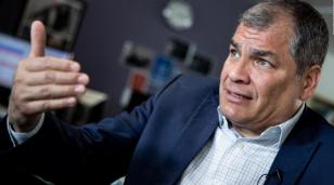 Ahora quieren prohibir que Correa sea candidato a vice en Ecuador