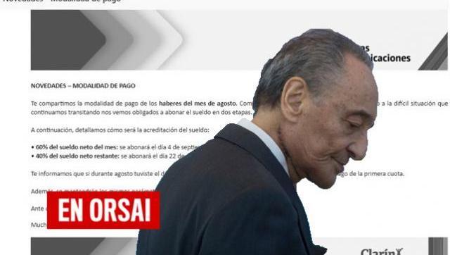 Clarín avisó que pagará salarios en cuotas y encima con una ayuda estatal