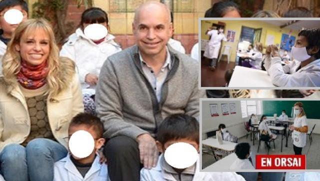 """""""Vuelta a clase"""" a Larreta le sobra el dinero para evitar poner en riesgo la salud los alumnos de CABA, pero no quiere"""