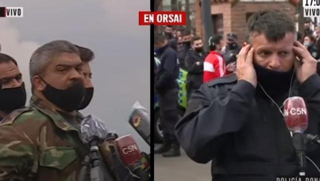 Argentina: el globo de ensayo policial para un golpe