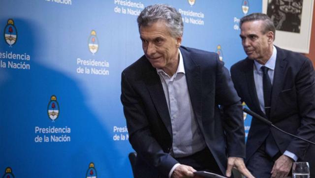 Pichetto reconoció su acuerdo con el lamentable documento de Macri