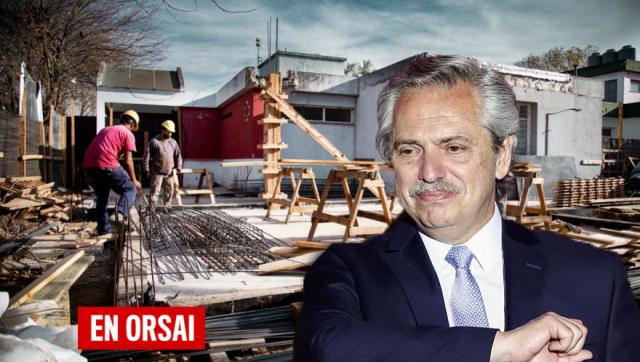 Alberto Fernández lanza los Precios Cuidados para la Construcción