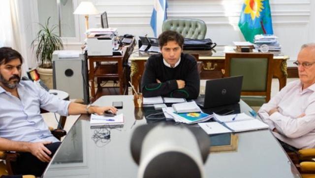 Kicillof confirmó el envío de más fondos a las intendencias para enfrentar la pandemia