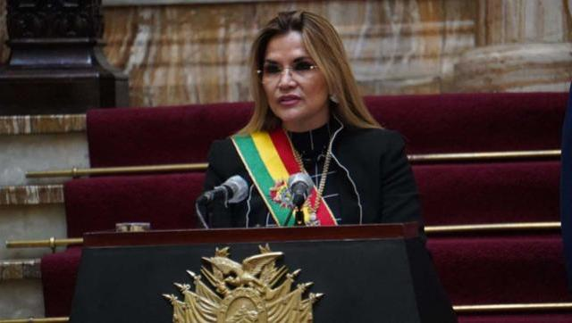 La dictadora Jeanine Añez declinó su candidatura presidencial de Bolivia