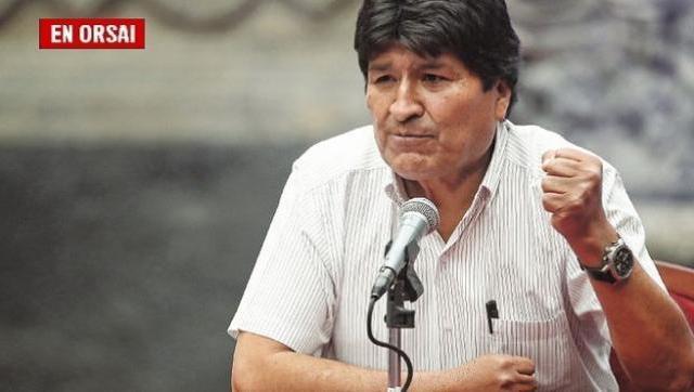 Evo Morales pidió apoyo al MAS frente a la
