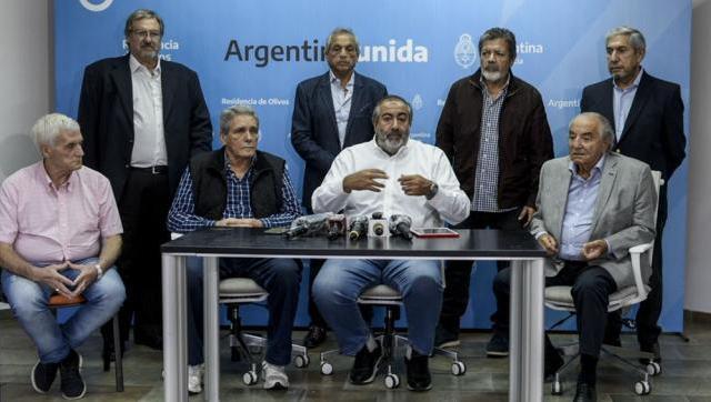 La CGT convocará a una movilización federal en apoyo al Gobierno Nacional
