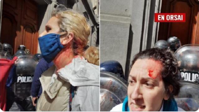 Enfermeros y enfermeras de la Ciudad fueron brutalmente reprimidos por la policía de Larreta