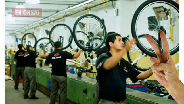 Industria Nacional: Bicicletas Olmo aumentará un 50% su producción y busca personal