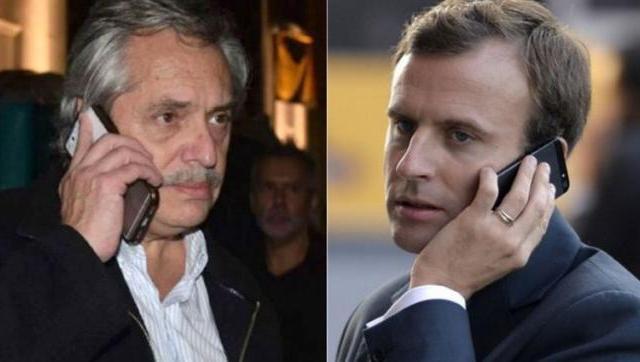 Macron le reveló a Alberto que recibió a Macri en Francia por presiones de la FIFA