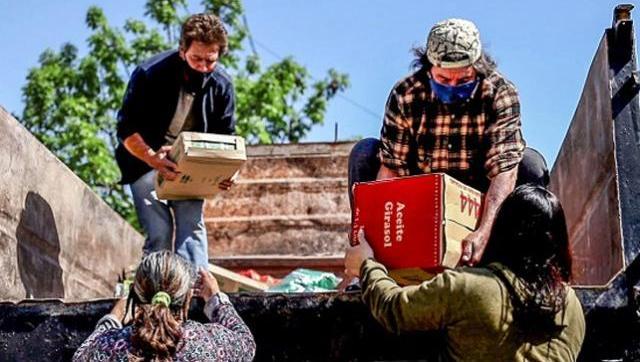 Universidad Pública realizó una nueva entrega de alimentos a más de 40 ollas populares