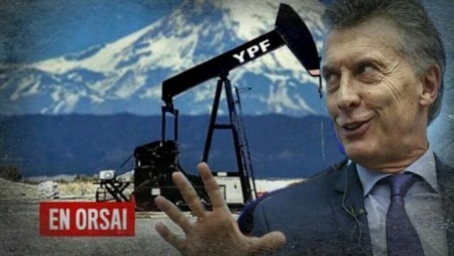 YPF dio de baja el