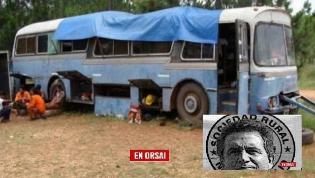 Uno de los integrantes de la patota de Etchevehere estuvo procesado por esclavizar a 40 trabajadores rurales