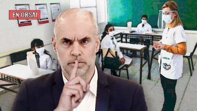 Larreta quiso ocultarlo: se confirmaron cuatro casos de coronavirus en escuelas porteñas
