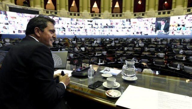 Con el quiebre de Cambiemos y tras un maratónico debate, se aprobó el Presupuesto 2021