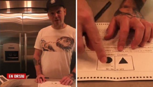 Residente adelantó su voto contra la anexión de Puerto Rico a Estados Unidos