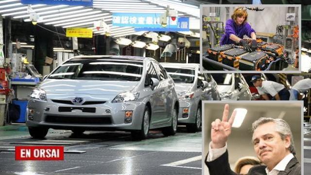 Más inversiones: Toyota desarrollará sus baterías en el país