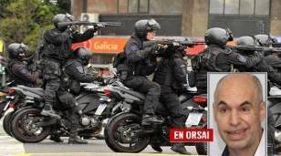 La doble vara de la policía de Larreta