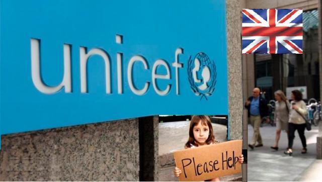 Unicef repartirá alimentos a los menores sin recursos del Reino Unido por primera vez en 70 años