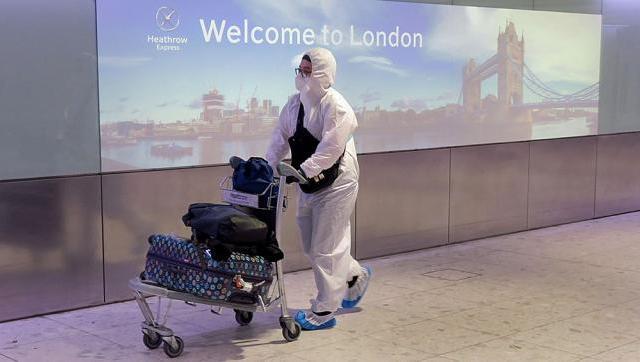 Varios países suspendieron los vuelos de Reino Unido por la