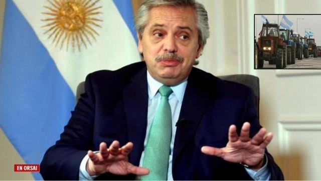 Alberto se cansó y le contestó a los patrones del campo que quieren aumentar todo, no pagar impuestos y desabastecer al país
