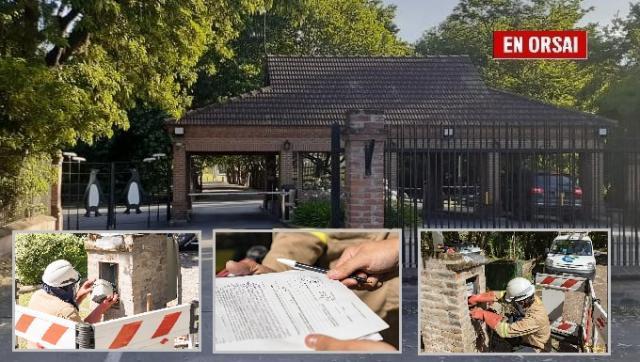 Colgados de la luz: detectan conexiones ilegales en unos de los country más caros de Buenos Aires