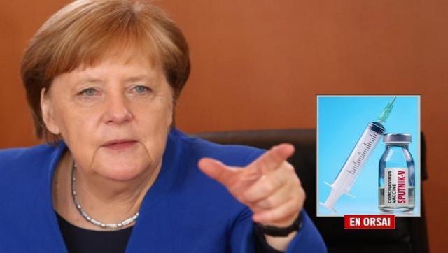 Merkel quiere la vacuna rusa Sputnik V para la Unión Europea y mueve sus fichas