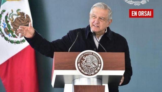 El presidente de México, Andrés Manuel López Obrador, dio positivo