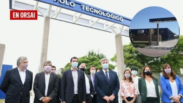 La Construcción del Polo Científico Tecnológico de La Pampa fue visitado por los Ministros Salvarezza y de Pedro