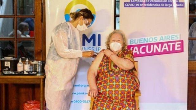 Kicillof Comenzó la vacunación de adultos mayores y docentes que integran grupos de riesgo