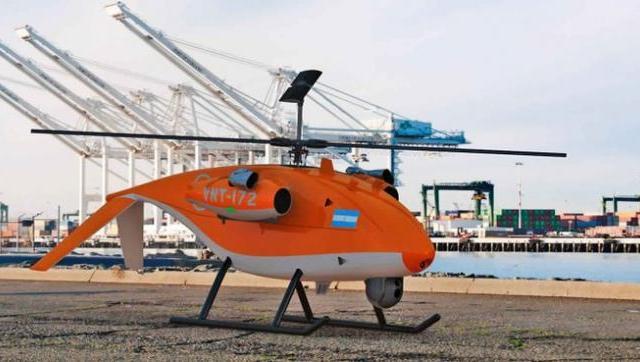 Se presentó un proyecto en el Senado para desarrollar del Helicóptero No Tripulado RUAS-160A