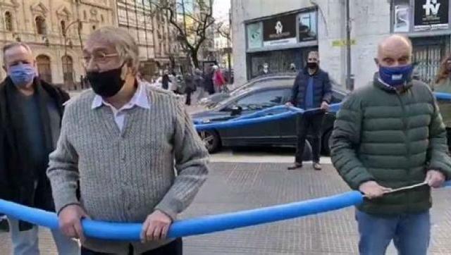 El actor Luis Brandoni fue internado con coronavirus