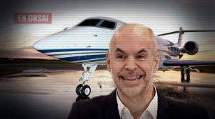 En medio de la polémica por las vacunas, Larreta se fue de vacaciones a Brasil en vuelo privado