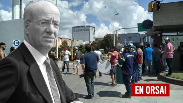 Marcha contra Paolo Rocca por despidos masivos en sus empresas