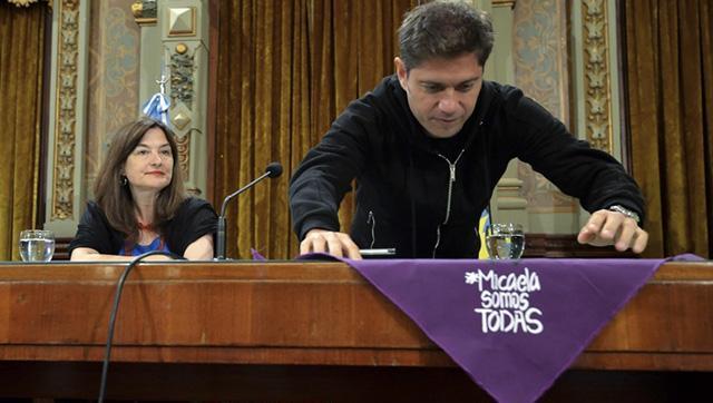 Agenda feminista: Kicillof presentará el plan de abordaje a la violencia de género
