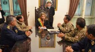 Justicia de Bolivia dictó cuatro meses de prisión preventiva para la golpista Áñez