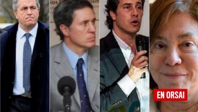 Fueron imputados por extorsión Luis Miguel, Sebastián, Juan Diego Etchevehere y la madre de ellos