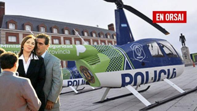 El Narco-helicóptero de María Eugenia
