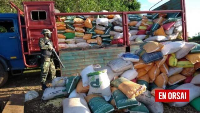 En Misiones fue secuestrado otro cargamento ilegal de maíz