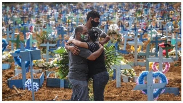 Brasil superó la barrera de las 4.000 muertes por coronavirus en un día