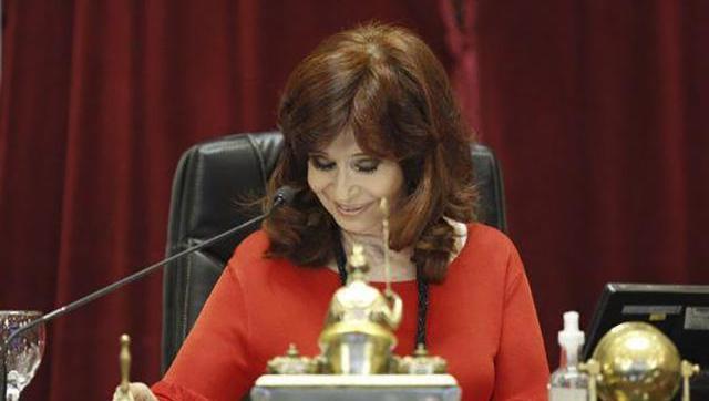 Cristina a la oposición:
