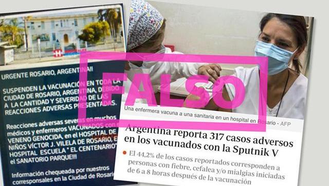 Basta de mentiras: se cae otra opereta contra la vacuna Sputnik V