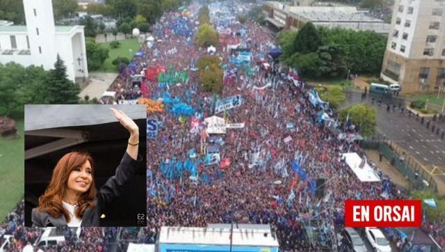 Se cumplen 5 años de Cristina en Comodoro Py y de la demostración de lealtad de un pueblo