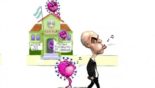 Larreta se opone al cierre de colegios como medida para frenar la pandemia