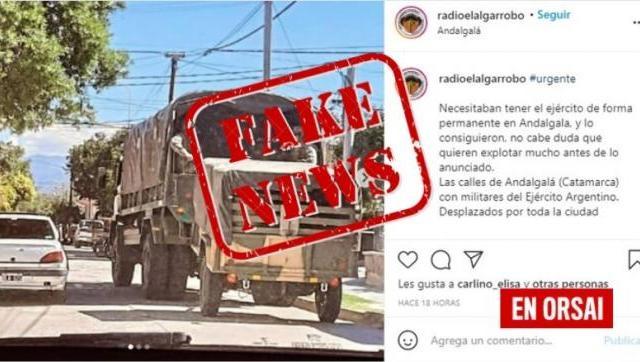 Salieron con falsas noticias sobre personal militar, lo desmiente Agustín Rossi