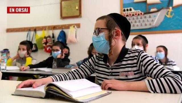 Israel con más del 60% de su población vacunada retoma las clases presenciales