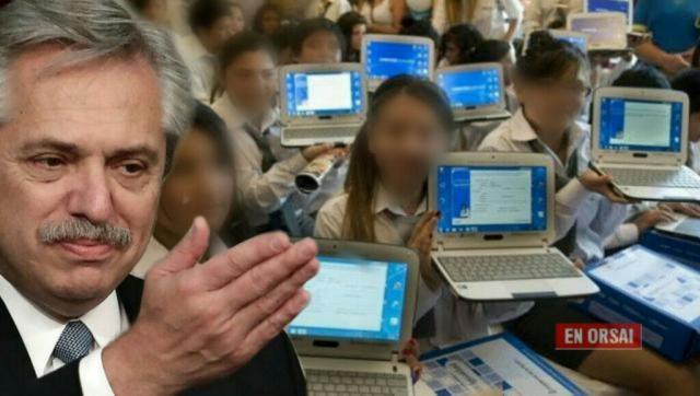 Es oficial: se volverán a entregar notebooks a alumnos y docentes de todo el país