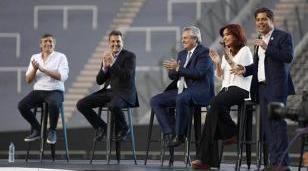 Alberto, Cristina, Massa y Kicillof lanzan el Programa Reconstruir en Ensenada