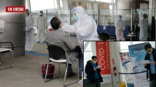 Controladores en Aeroparque: afuera pagan el PCR contentos y felices pero acá no lo quieren pagar y se enojan