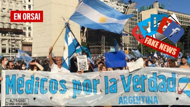 """""""Médicos por la Verdad"""": una marca negacionista registrada por la española Natalia Prego"""